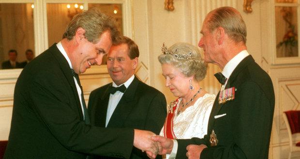 Výsledek obrázku pro foto zeman hav el královna alžběta