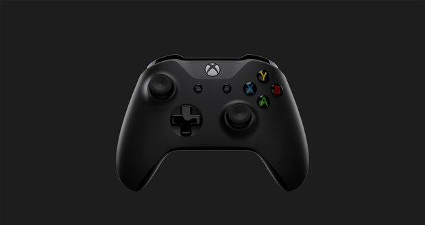 Ovladač konzole Xbox One X