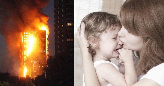 """""""Lidé vyhazovali vlastní děti z oken."""" Svědci popsali ohnivý horor v Londýně"""