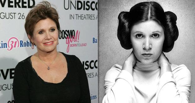 Princezna Leia přiznávala závislost na drogách už před lety. V době smrti měla v těle hotový koktejl opiátů.