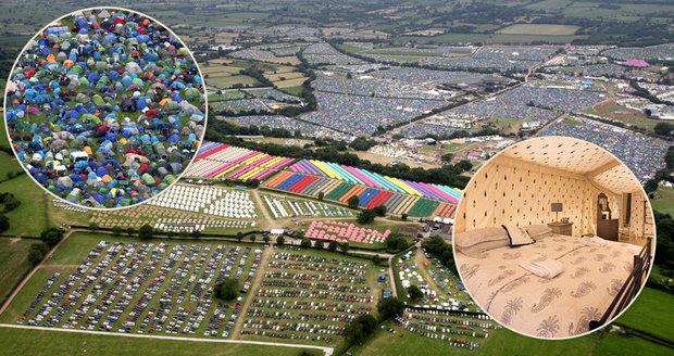 Stanové peklo na největším festivalu na světě: 200 tisíc lidí, ale vyvolení mají luxus