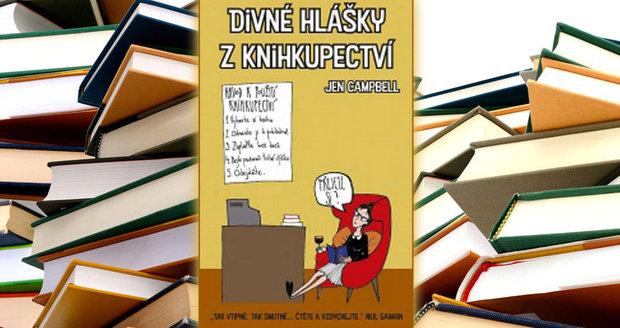 Recenze: Divné hlášky z knihkupectví pobaví i roztěkané čtenáře