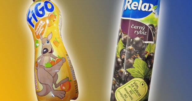Nápoj pro děti s vitamínem žádný vitamín neobsahoval. Šidil i výrobce džusu