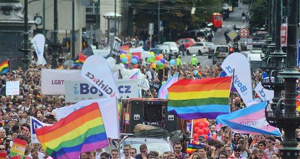 Na Prague Pride přišlo 35 tisíc lidí.
