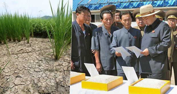 Severní Korea je na pokraji hladomoru. Kimovu vlast ničí sankce i sucho
