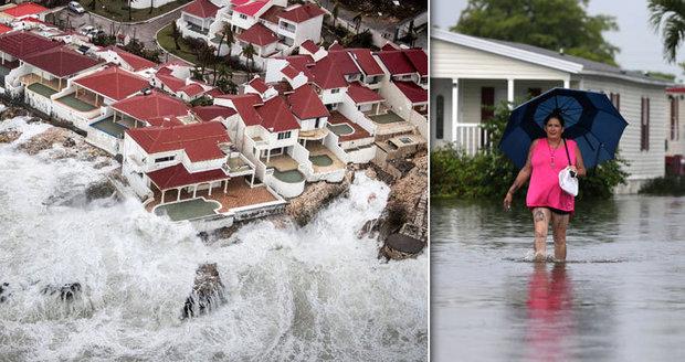 Čechy v Karibiku evakuují kvůli hurikánu Irma. Ministerstvo varuje: Nejezděte tam