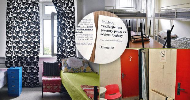 Jak žijí bezdomovci v Armádě spásy v Holešovicích? Muži tady nesmí k ženám