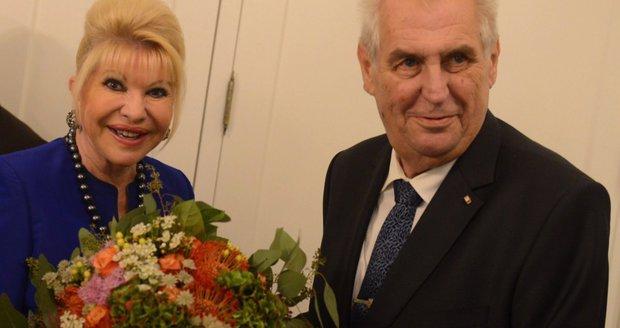 Zeman v USA: Vyrazil na oběd s bývalkou Trumpa. A podpořil Šlechtovou v kandidatuře do OSN