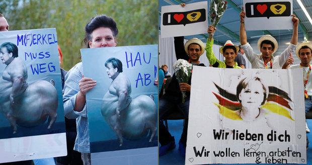 """Z Merkelové udělali """"svini"""". Protestující ji zesměšnili, kancléřka přemítá o chybách"""