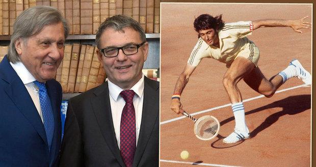 """""""Sexista! Sprosťák!"""" Česko bude zastupovat tenisový bouřlivák Nastase, lidé se diví"""
