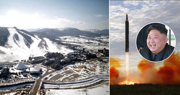 """Olympiáda na dostřel Kimových raket. """"Bude to bezpečné,"""" odmítá výbor přesun her"""