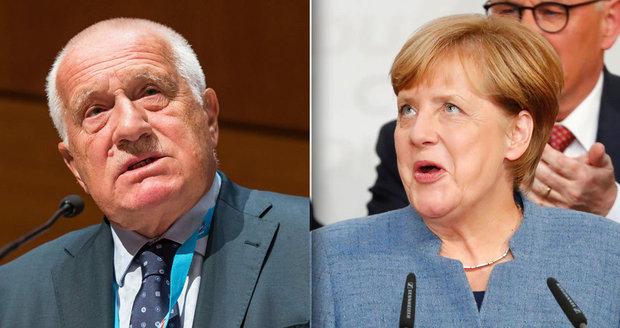 """Merkelová sčítá ztráty. Klaus se raduje: Úžasný úspěch """"démonizované"""" AfD"""
