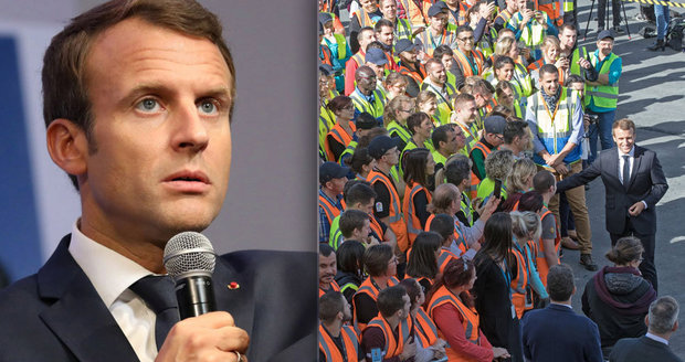 Macron se navezl do nezaměstnaných: Nemají dělat bordel, ale hledat si práci