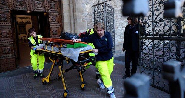 Turista (†52) nepřežil návštěvu baziliky ve Florencii. Zabil ho kus výzdoby
