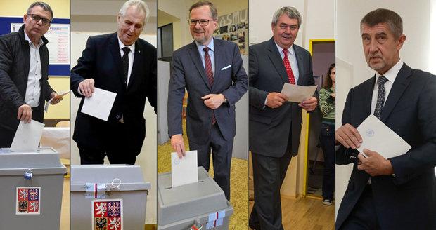 """Volby ONLINE: Kolaps u uren v Opavě. A Babiš zkusil """"doják"""" na závěr"""