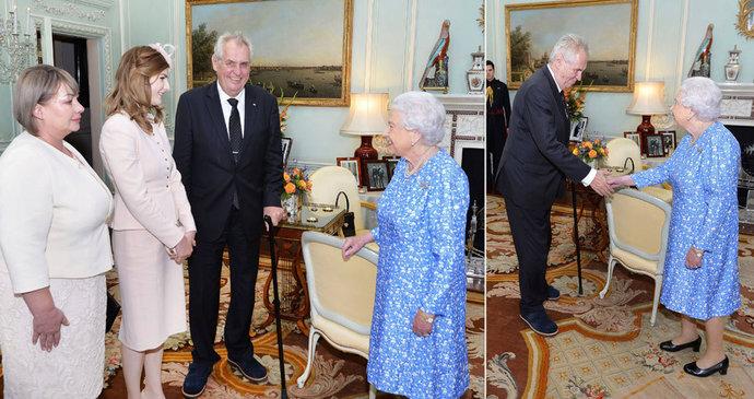 Výsledek obrázku pro zeman alžběta II