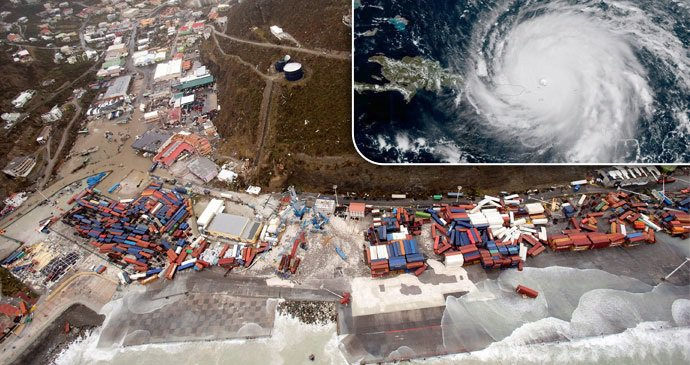 Výsledek obrázku pro foto hurikán irma