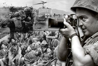 Zemřel slavný válečný fotograf, který se štěstím přežil i Vietnam