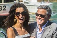 Clooney bude tátou, jeho Amal čeká dvojčata!
