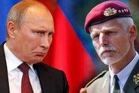 Gener�l Pavel se ob�v� v�lky! Putinovo Rusko je v�n� hrozba a agresor