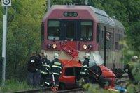 Sr�ka dvou vlak� na Litom��icku: Jeden zran�n� a �koda za 100 milion�!
