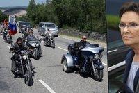 Proti Putinovým motorkářům se chystají protesty: Jejich průjezd je provokace, tvrdí polská premiérka