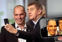 Selfie s Babi�em a pak vyhazov? Varoufakis u� leze na nervy i �ek�m
