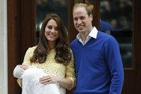 Jm�no dcerky Williama a Kate odhaleno: Princezna m� hned t�i!