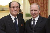 Kim �ong-Un do Ruska na oslavy nepojede: M�sto n�j po�lou p�edsedu lidov�ho shrom�d�n�