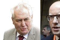 Sobotka se pustil do Zemana: Prezident by nem�l podn�covat nen�vist k uprchl�k�m?