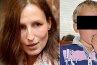 Eva Michal�kov� se setkala se synem Davidem (6), star��ho Denise (9) vid�t nesm�la