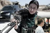 ��fka kurdsk�ch milic bojuje s ISIS: Boj�m se m�t d�ti, dokud je neporaz�me