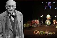 ONLINE: Posledn� rozlou�en� s Lubom�rem Lipsk�m (�92). Sbohem mu d�v� rodina, kolegov� i fanou�ci