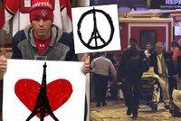 Francouze podpořila i slavná 68: Jágr si upravil symbol smutku