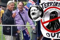Adolf Hitler proti islámu! Dvojník říšského vůdce demonstroval v Austrálii