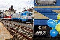 """""""Expres Dukla"""" zpátky na kolejích. Trasu Praha-Kyjev zdolá za 33 hodin"""