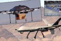 Od smrtících zabijáků až po hračky: 5 typů dronů, které nám létají nad hlavou