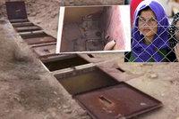Hrůzné utrpení jezídek: Islamisté je drží v kobkách pod zemí!