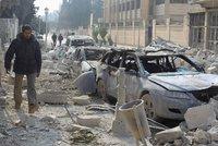 Teroristé mezi lidskými štíty: Desítky mrtvých při ruských náletech v Sýrii