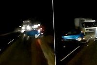VIDEO smrtelné nehody pro výstrahu: Lenka a Jan vjeli pod kola kamionu na dovolené na Slovensku
