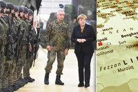 """Němci chtějí kvůli uprchlíkům armádu v Libyi. """"Špinavý obchod,"""" varuje opozice"""