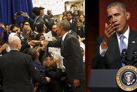 Obama poprvé jako prezident v mešitě: Kritizoval útoky politiků na islám