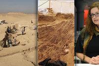 Česká egyptoložka: Co říká o práci v poušti a možném nebezpečí?