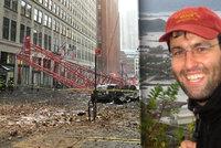 V New Yorku se z��til ob�� je��b. Rozdrtil Davida z Prahy (�38)