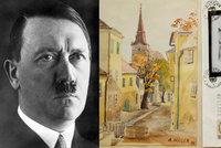 Hitlerovy akvarely táhnou, vydražily se za milion