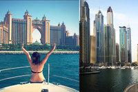 �e�ka o Dubaji: Rezervace stolu a� za p�l milionu. Poznala i syna �ejka