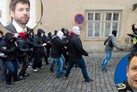 Policie proti Pelik�novi: Nepodlo�enou kritiku za demonstrace odm�t�me