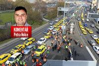 Koment��: Taxik��i nemuseli Prahu blokovat, brzy budou jezdit i za 15 korun