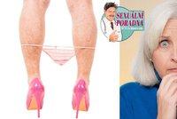 Sexu�ln� poradna: Syna jsem na�apala masturbovat v m�ch kalhotk�ch!
