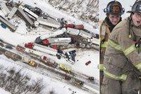 N�sledky krut� zimy na severov�chod� USA: Apokalypsa na d�lnici